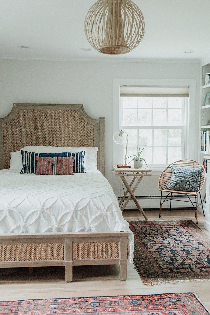 Coastal Meets Boho In This One Of A Kind Home Bedroom