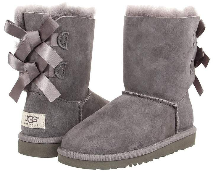 32fdda43275 UGG Kids - Bailey Bow Girls Shoes to help style up your baby girl ...
