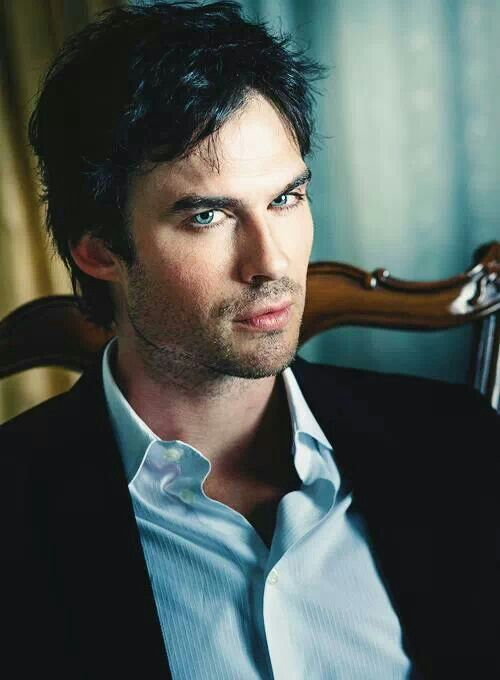 Ian Somerhalder - who is much more than a pretty face and has a beautiful personality and soul.