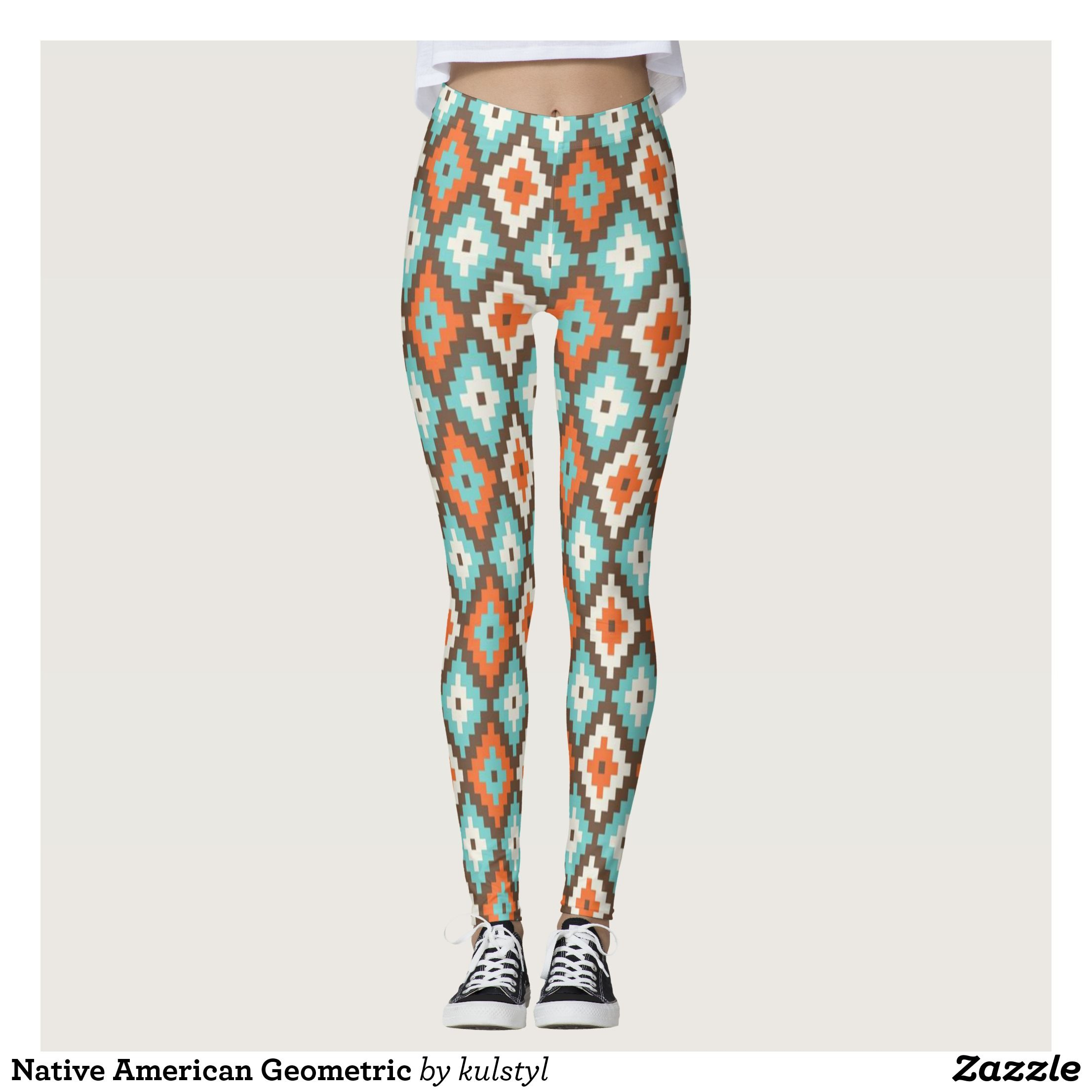 Native American Geometric Leggings Fashion