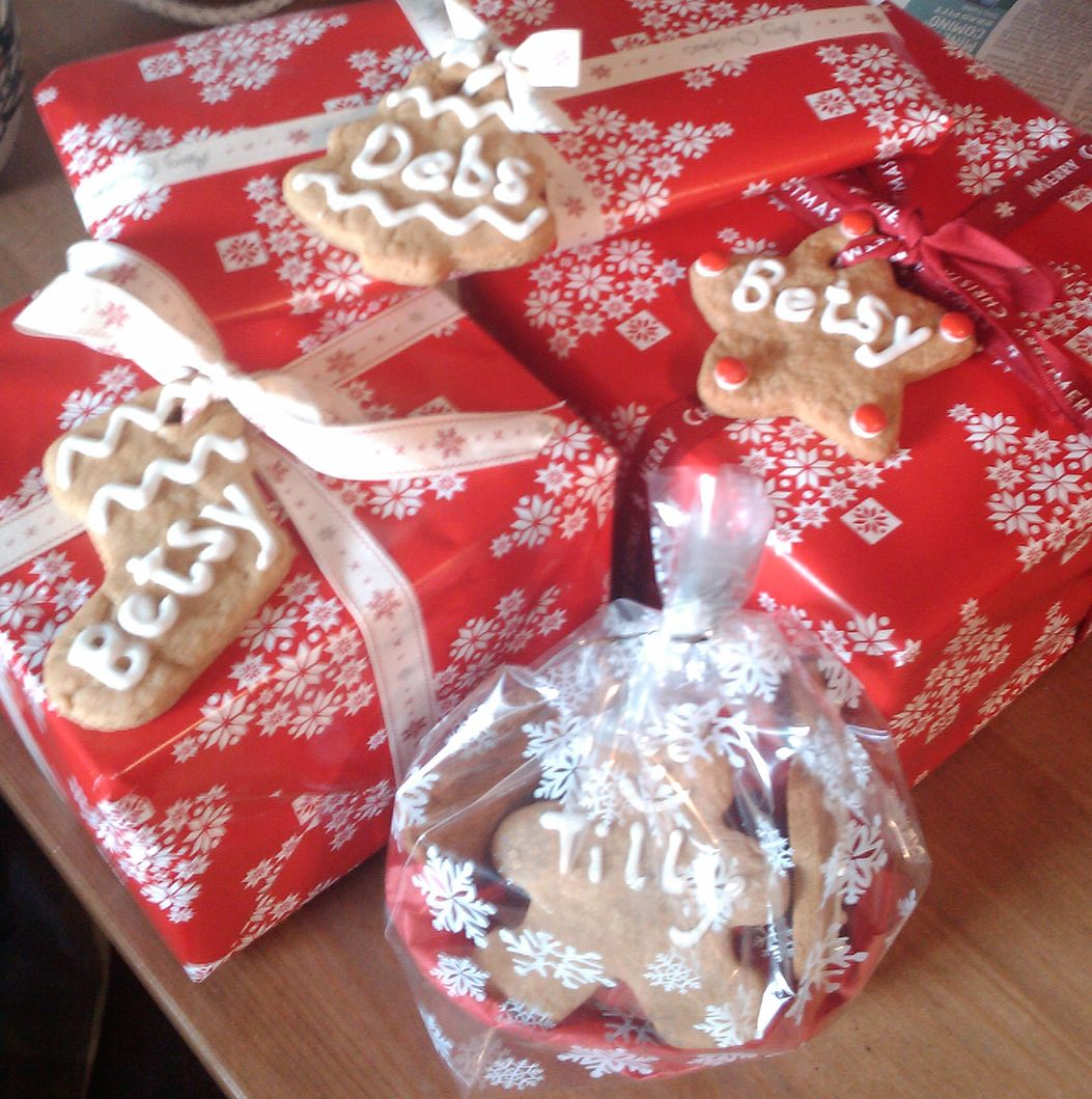 Christmas cookies - gift tags   Gift Baskets and Food Gifts ...