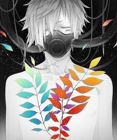 gas mask anime girl - Google Search