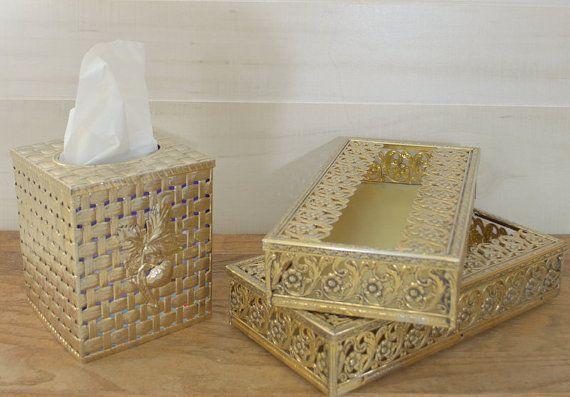 Decorative Tissue Box Cover Decorative Tissue Box Covers Metal Tissue Box2Ndhandchicc