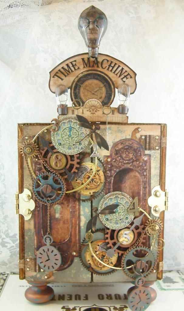 Artfully Musing: Video Tutorial – Creating an Armoire to Showcase ATCs, Tags, Domino Books and other Small Art Pieces