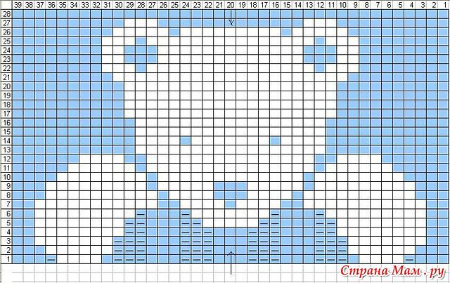 Photo of knitabitknitwit's Phildar # 401-73-187 (Teddy Bear) CHART