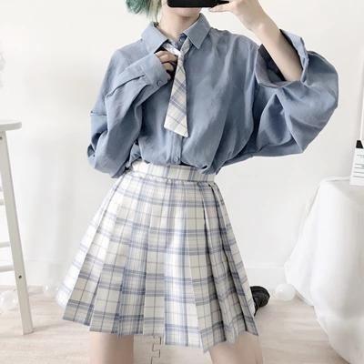 Blue wild shirt KF90022 - unzzy