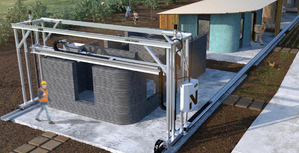 Amazing 3D Printer Creates $10,000 Tiny House In 24 Hours   Tiny House Blog