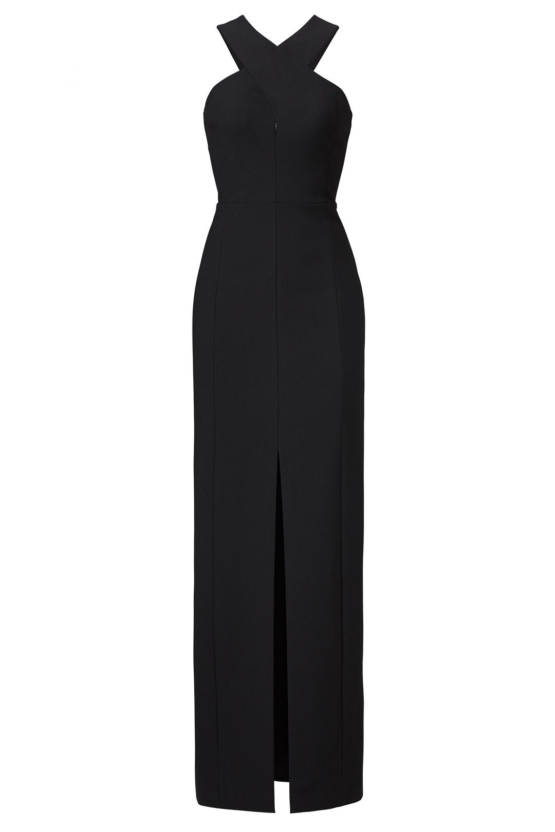Dress to wear at a wedding  Elizabeth and James Black Mila Gown  Wear  Pinterest  Gowns