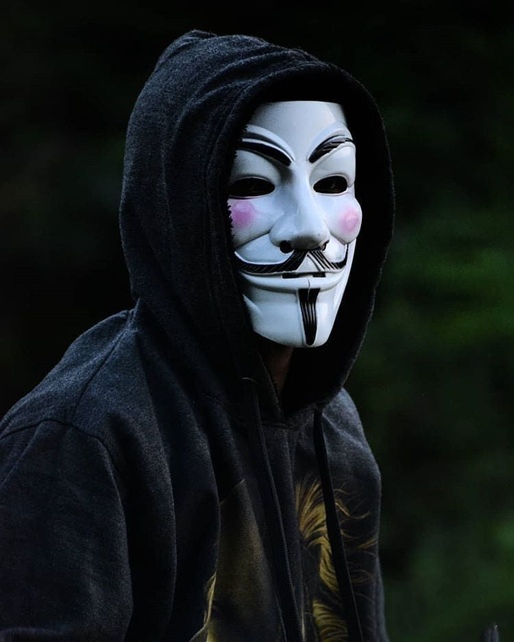 Pin On Anonymous Mask