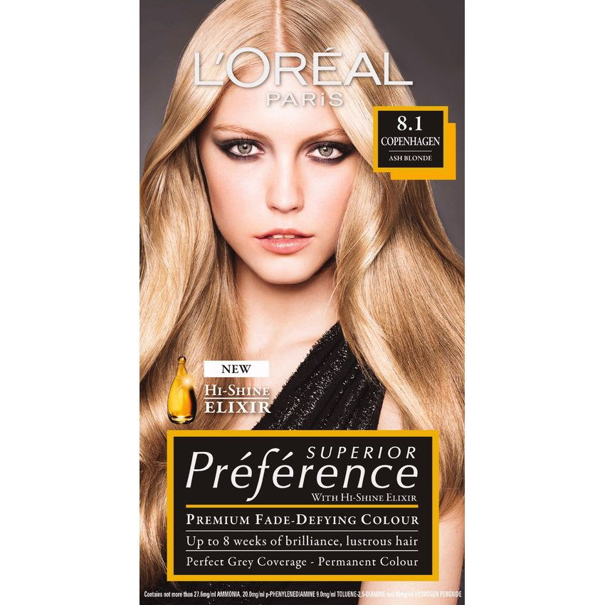 Ash blonde hair dye loreal