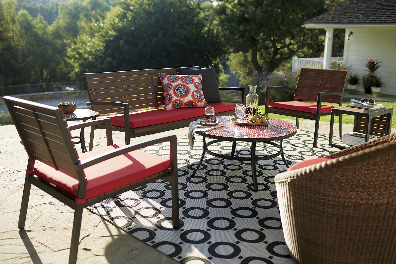 Rocha Sofa With Sunbrella Cushion Outdoor Furniture Cushions Outdoor Furniture Outdoor Furniture Collections