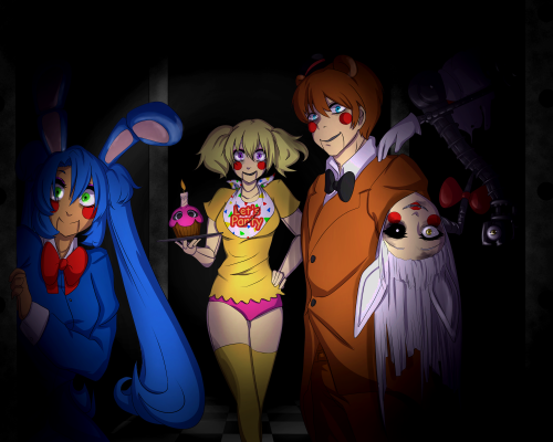 how to make fnaf not scary 5