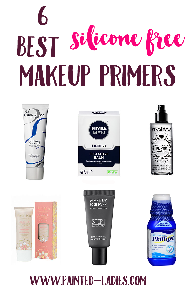 Silicone Makeup Brushes: 6 Best Silicone Free Makeup Primers