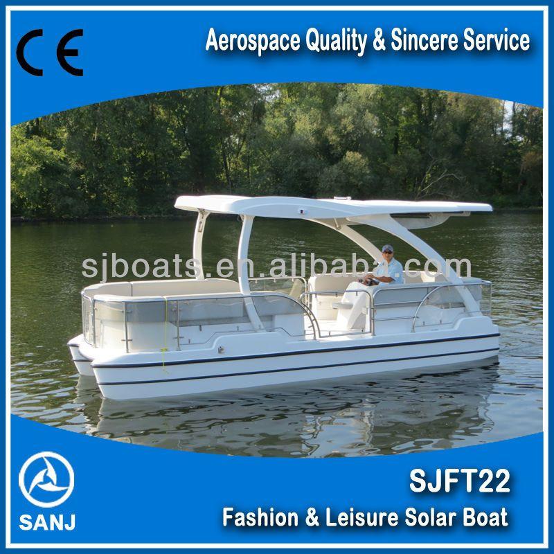 SANJ SJFT22 Solar power boat with Unique technology $33000