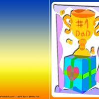 Number 1 Dad Trophy