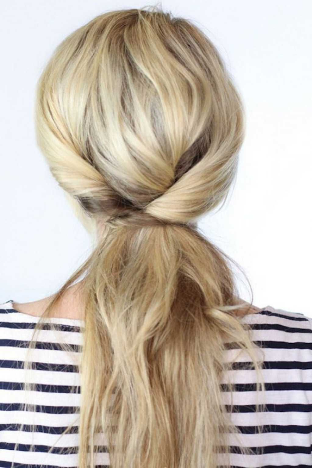 Beautiful ponytail hairstyle in 5 minutes :: one1lady.com :: #hair #hairs #hairstyle #hairstyles