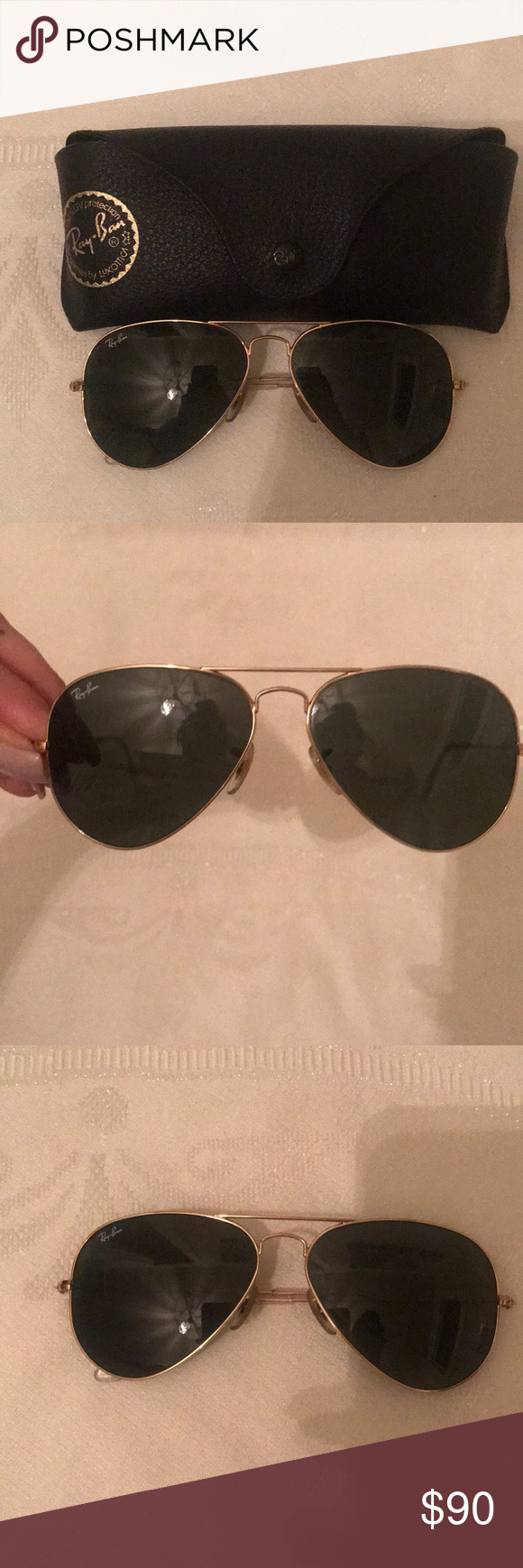 d1e15060ee1 Ray- Ban Classic Aviator sunglasses Currently one of the most iconic  sunglass models in the