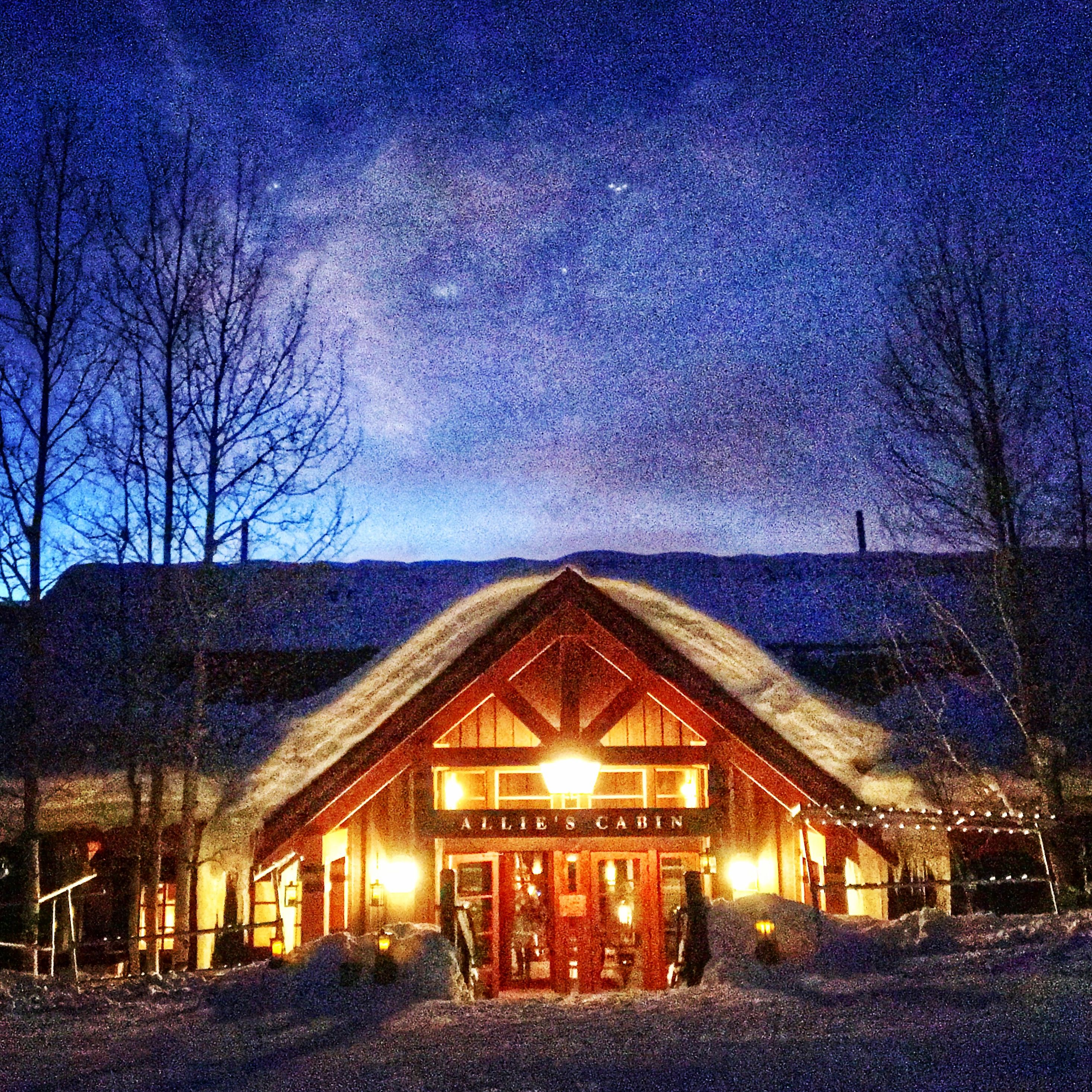 Allie S Cabin Winter Magic Ski Mountain Wedding Beavercreek