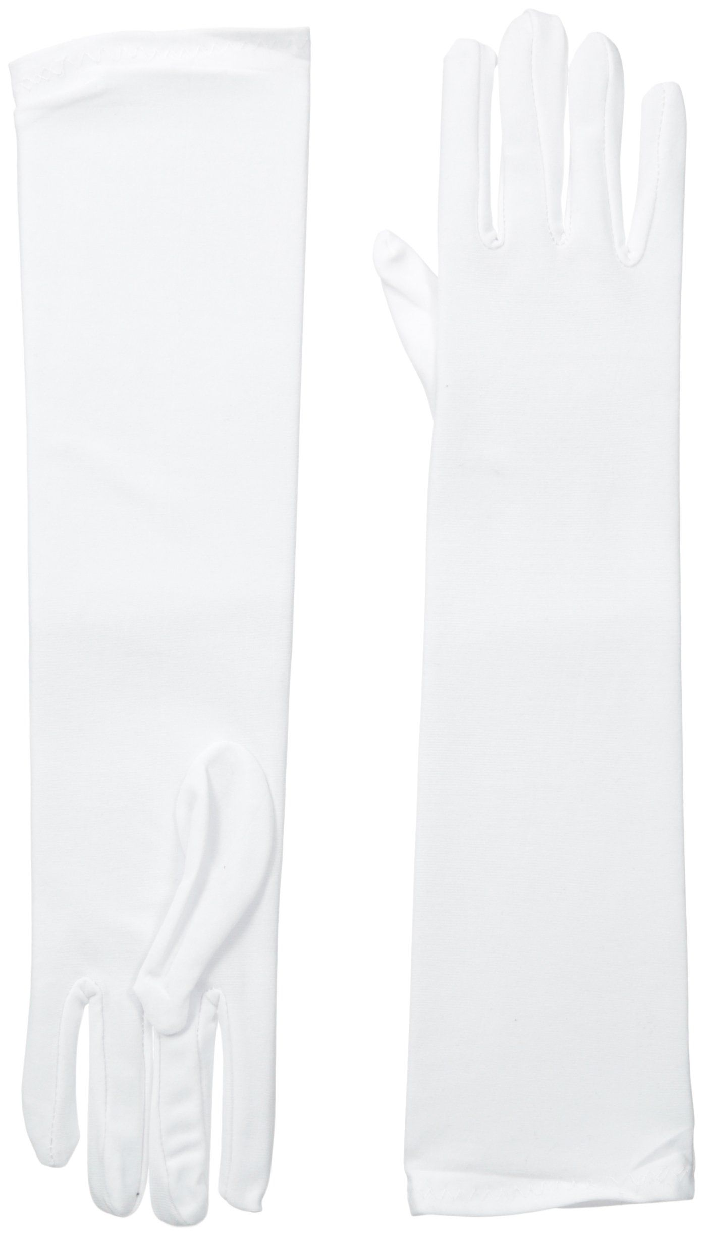 Be Wicked Women's Mid Gloves, White, 39cm