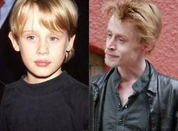 Macaulay Culkin Then And Now Sidvicious