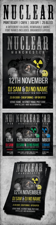 Free Event Flyer Template Psd By Sam Ridgway Via Behance Psd