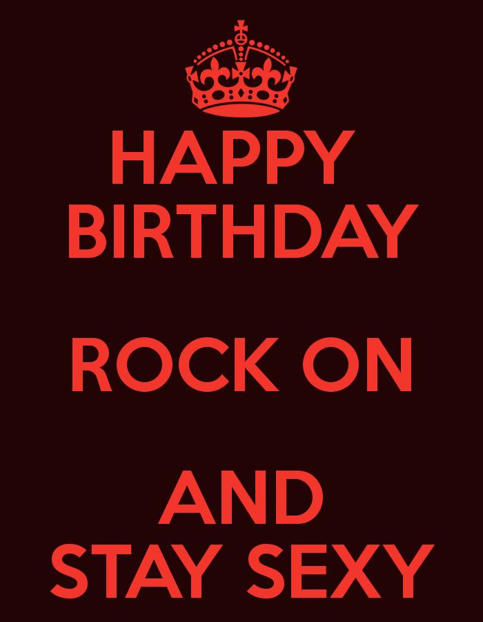 Verjaardag Rock.Happy Birthday Rock Happy Birthday Rock On And
