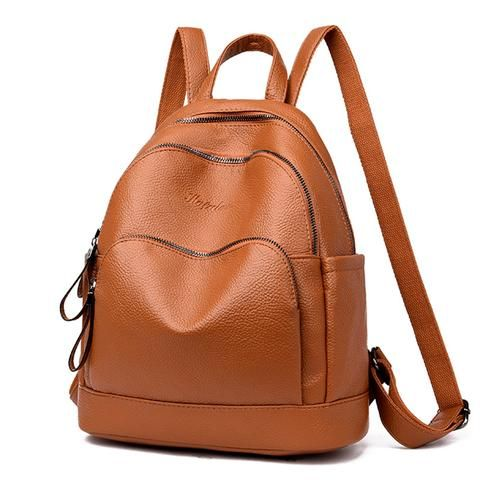 91a33c0a62bb Casual Women Backpack High Quality Leather Backpacks for Teenage Girls  Female School Shoulder Bag 2018 Bagpack mochila sac a dos