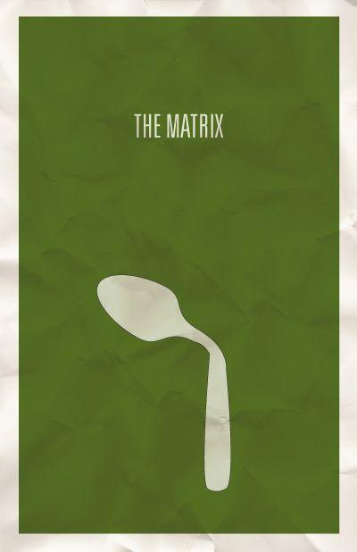 The Matrix minimalist poster design by @Hunter Langston #Design #poster #movie