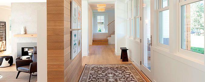 Pasillo amplio ideas para el hogar - Decoracion de pasillos modernos ...