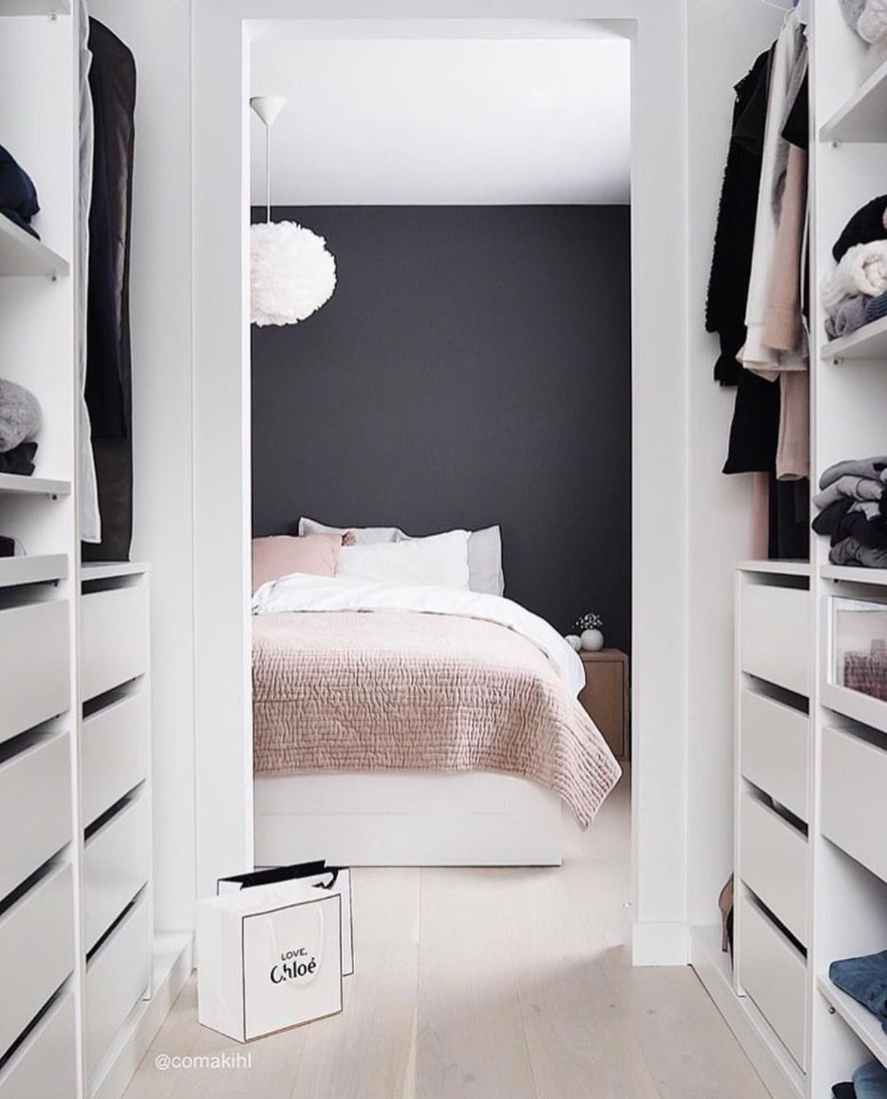 blancperso - blog déco - chambre - dressing - blanc - gris ...