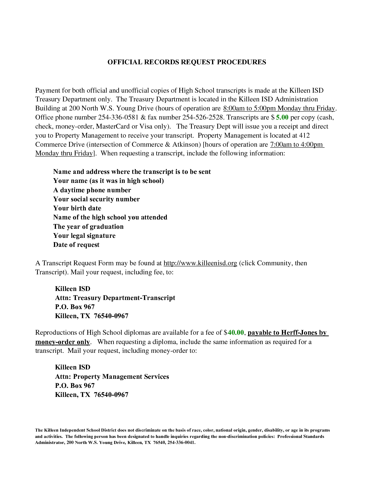 Official transcript request letter letternew transcript request letter this is from a graduate of an altavistaventures Images