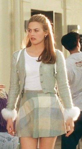 "cher from ""clueless"" cuuuuute outfit"