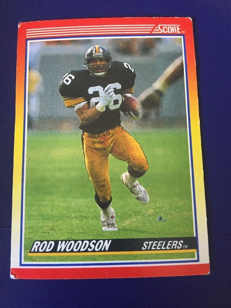 Score 1990 Ron Woodson Card 255 Cards, Baseball cards