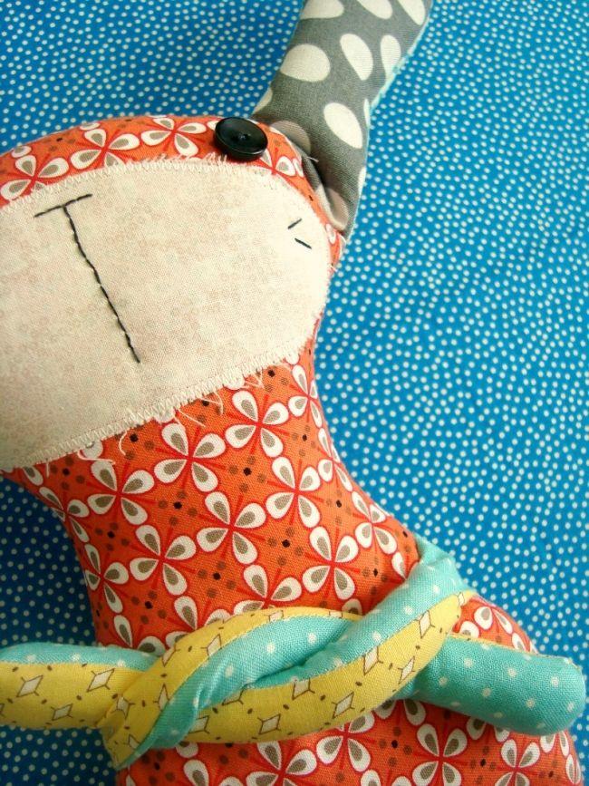 Free Pattern: Bunny Plush Pattern | Sewing: Toys/Ornaments ...