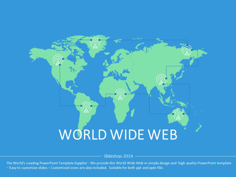 World wide web template presentation internet technology world wide web template presentation internet technology gumiabroncs Gallery