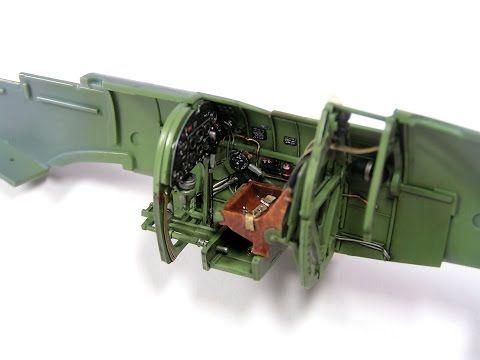 Supermarine Spitfire Mk Ixc Eduard 1 48 Step By Step Part 1 Supermarine Spitfire Cockpit Airfix Models