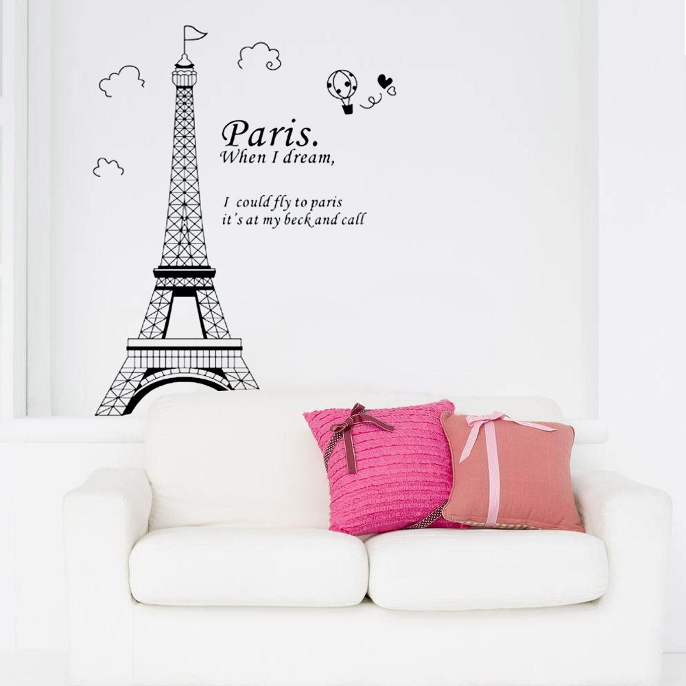 Hnh nn thp eiffel tm vi google thit k lch pinterest find some window vinyl decal and paris eiffel tower removable badroom art decal wall amipublicfo Images