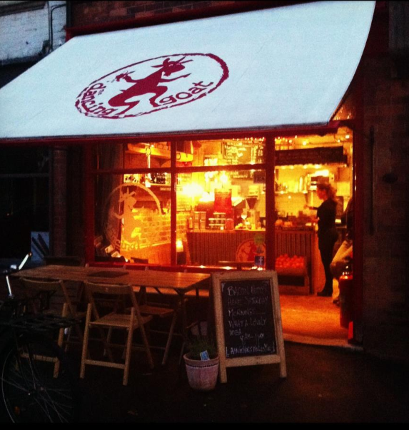 The Dancing Goat Coffee House - Click pic to blog for full story #poole #dorset #coffee # ...