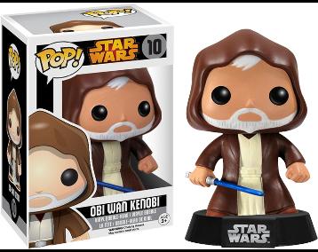 STAR WARS - Bobble Head POP N° 10 - Obi-Wan Kenobi