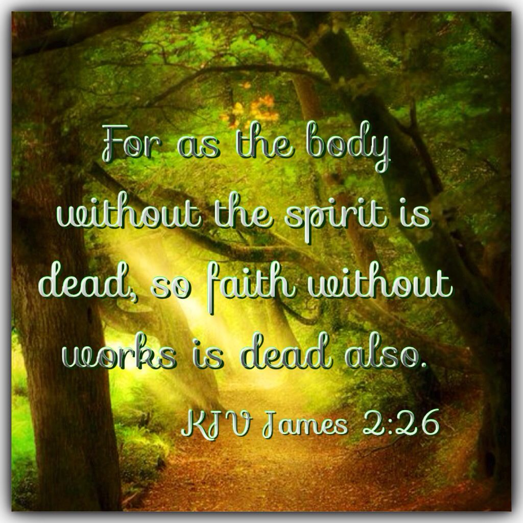 Image result for James 2:26 kjv