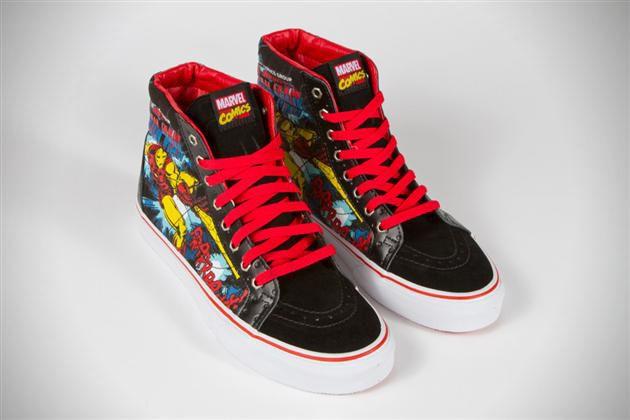 3c43b6c50a5953 Marvel x Vans Classics Collaboration Sneakers (1)