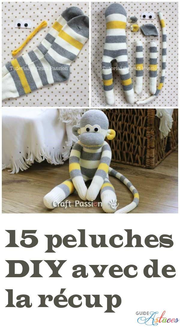 15 peluches DIY avec de la récup #dollscouture