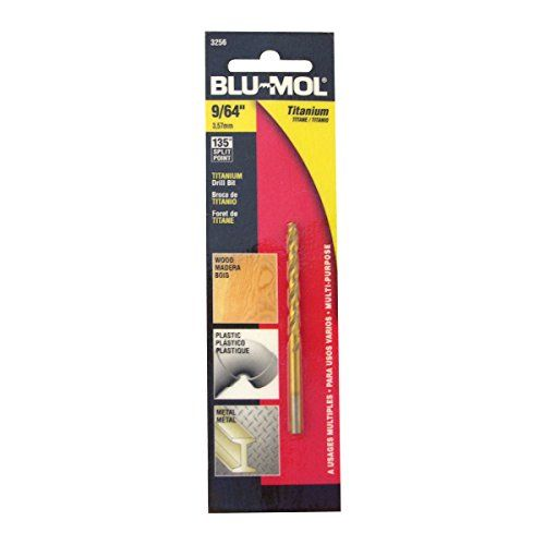 Daimeter and Length 11//16 by 6-Inch Disston E0102717 Carded Blu-Mol Xtreme Spade Bits