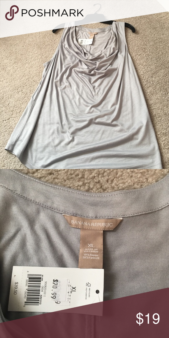 NWT Banana Republic Cami Brand new- just don't need with my new job! Banana Republic Tops Camisoles