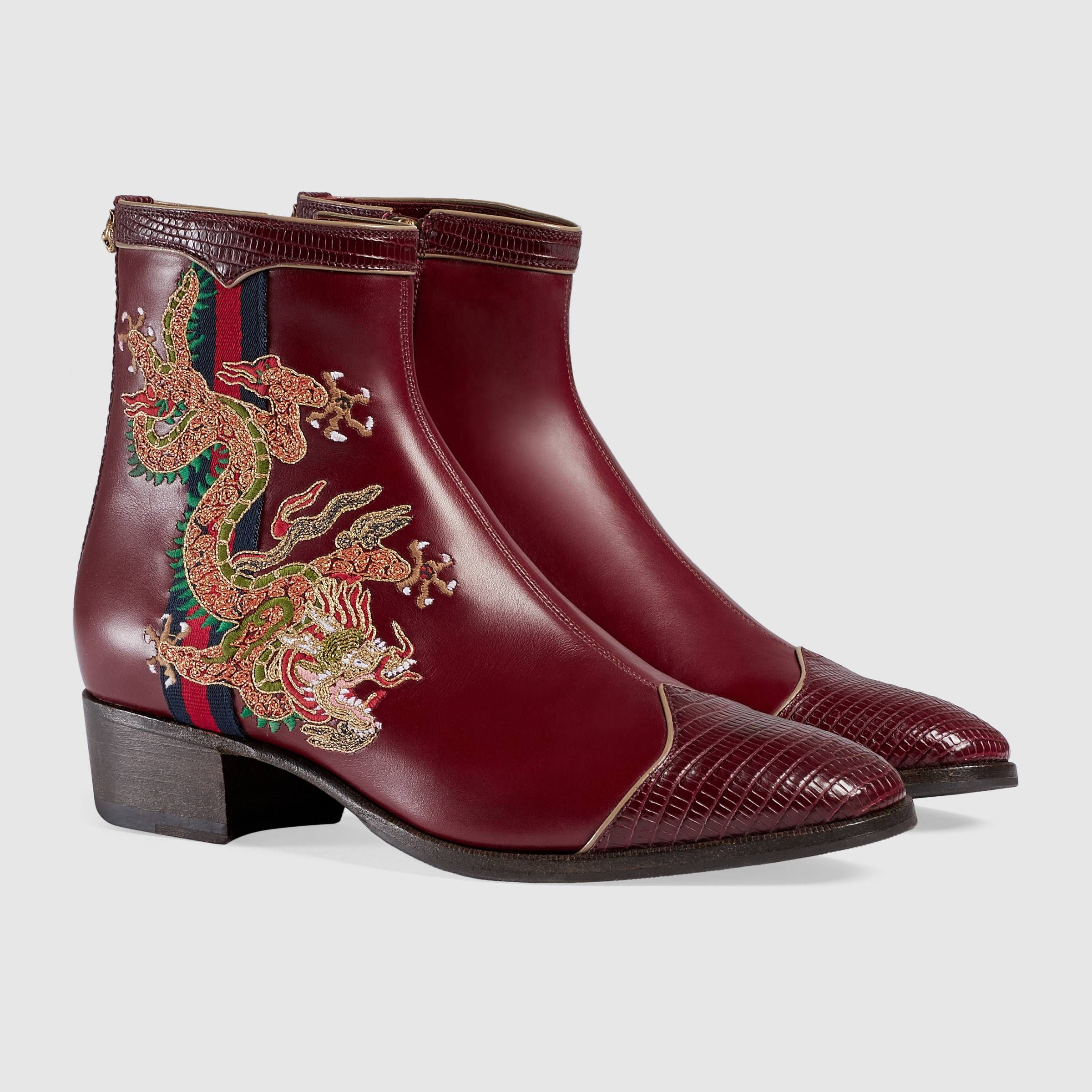 Gucci - Cruise 2018 | Leather boot with