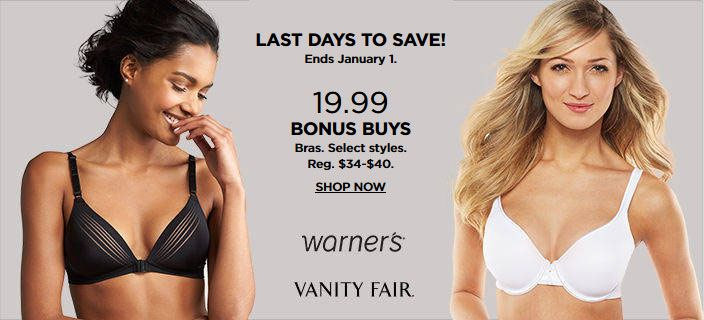 12ff5e55a57e #Kohl's Intimates Stockup Sale. $10 off your intimates purchase of $40 or  more.Select styles.