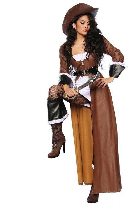 Hochwertiges Kostum Set Piraten Braut Fur Karneval Und Fasching