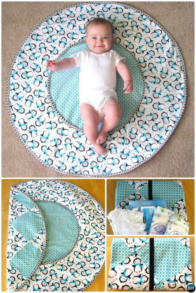 8 Baby Changing Pad Travel Diaper Clutch Bag Instructions Pattern Pictures Changing Pad And