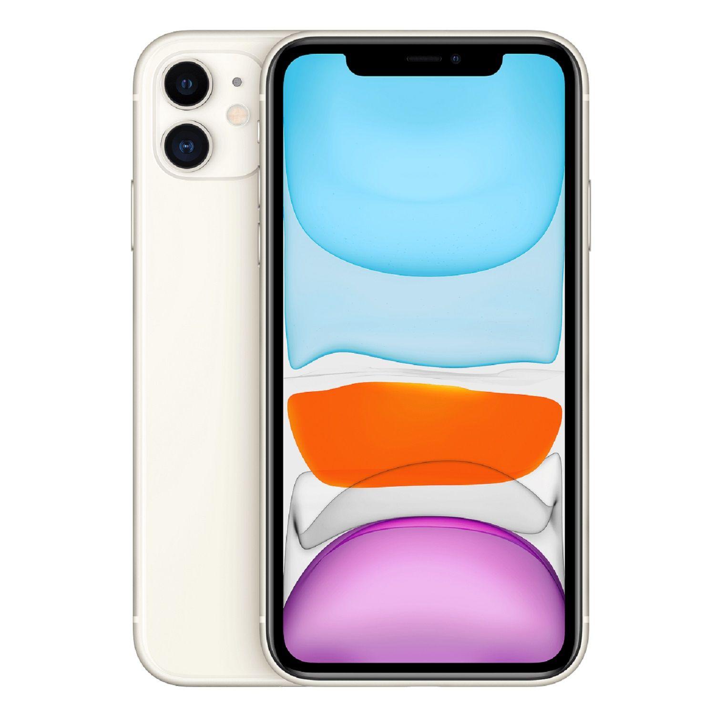 iPhone 11 - 64 Go - MWLU2ZD/A - Blanc à Prix Carrefour | Apple ...