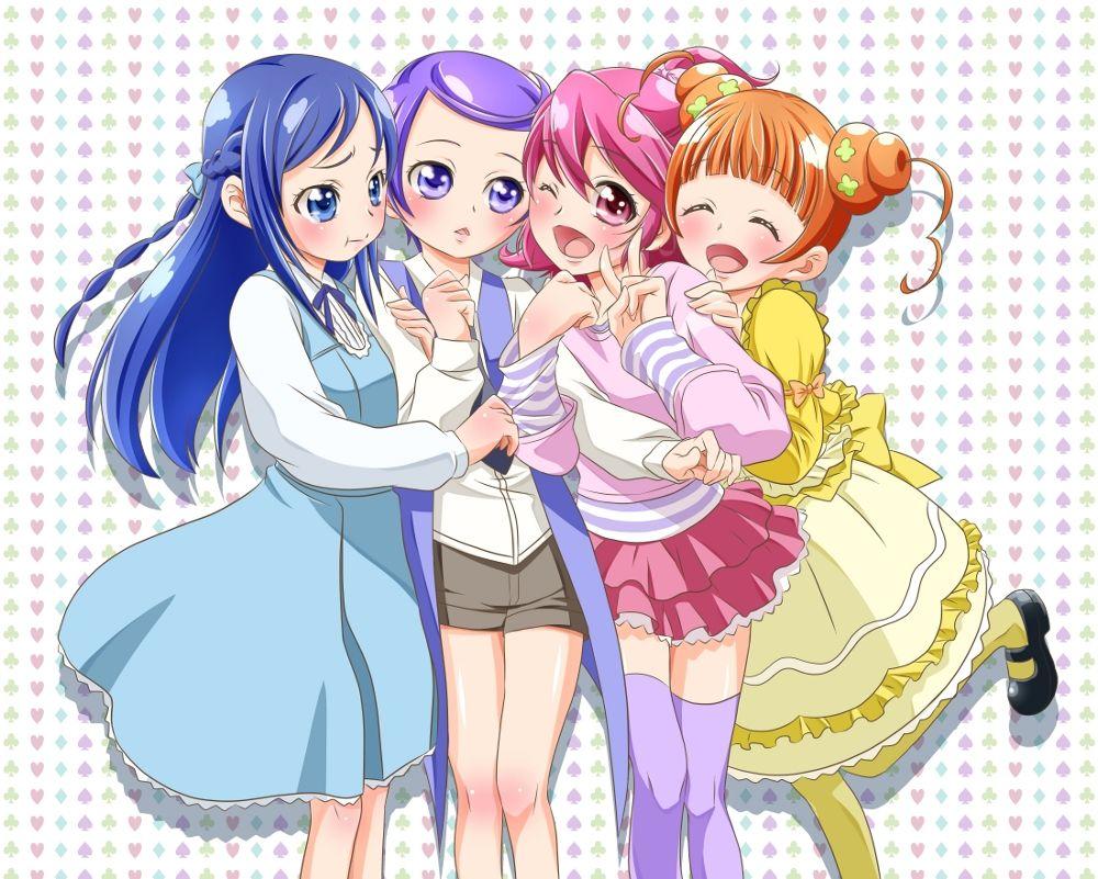 Les Glitter Force Doki Doki 💗 in 8  Glitter force, Anime